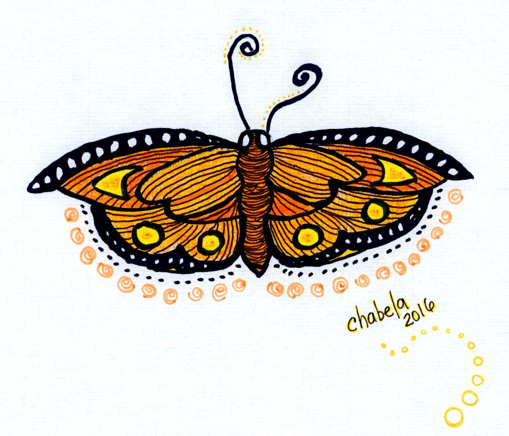 Honey Butterfly