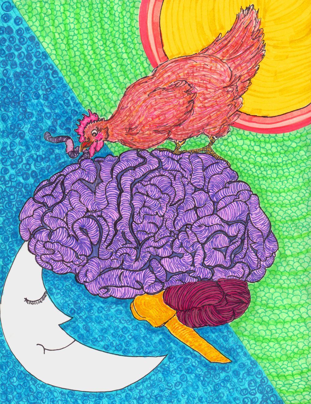 The Chicken on the Brain