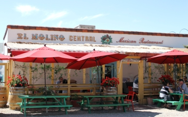 El Molino Central the best Mexican food in the Bay Area just steps away from The Big and Juicy Grape, our Guesthouse in Sonoma Valley.