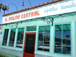 El Molino Central front entrance. The best Mexican food in the Bay Area just steps away from The Big and Juicy Grape, our Guesthouse in Sonoma Valley.