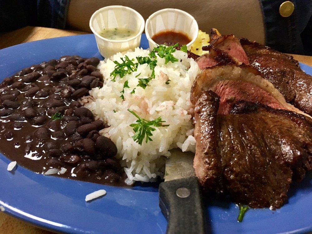 Sirloin plate Brasil BBQ Petaluma